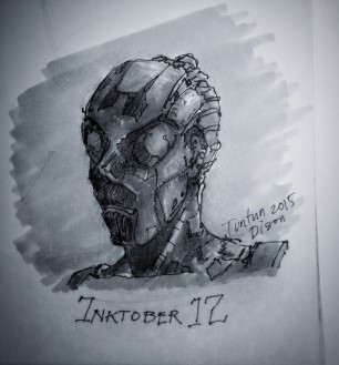 Entry 12 #inktober12 #inktober #copic @tuntunduduls
