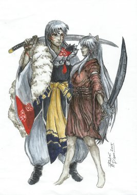 Inuyasha genderbent x Sesshomaru