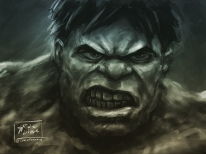 Hulk Hangry by Rodreidizon